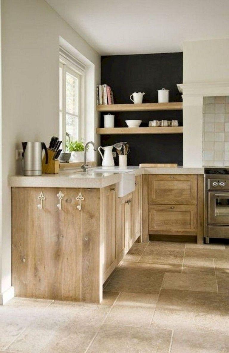 80 best farmhouse style kitchen cabinet design ideas kitchen rh pinterest com