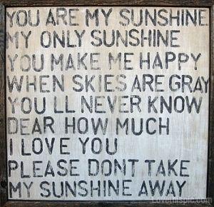Myyy sunshineee <3