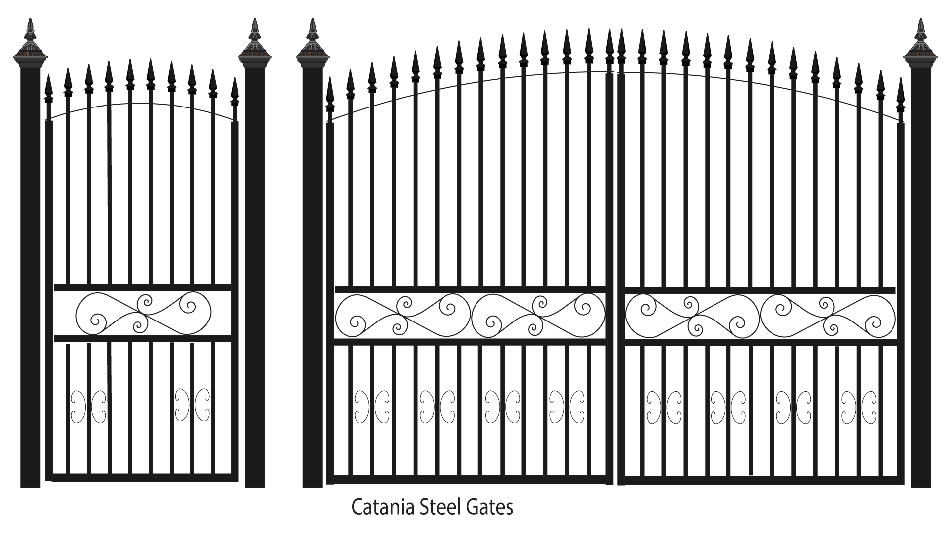 Catania Steel Gates For Web Png 1920 1080 Wrought Iron Gates Iron Gates Steel Gate