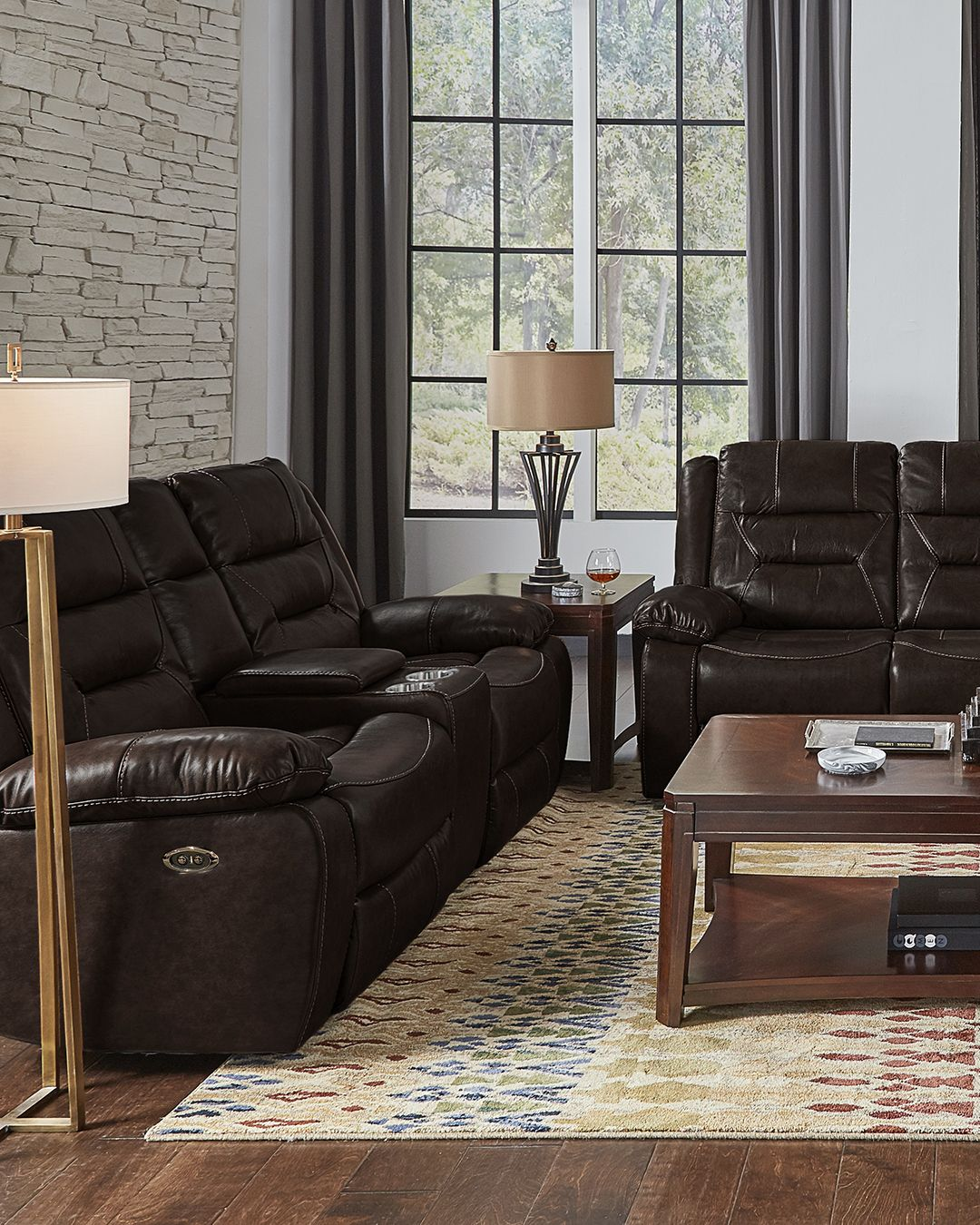 Etheridge Power Leather Reclining Group In 2020 Leather Sofa And Loveseat Leather Sofa Living Room Sets