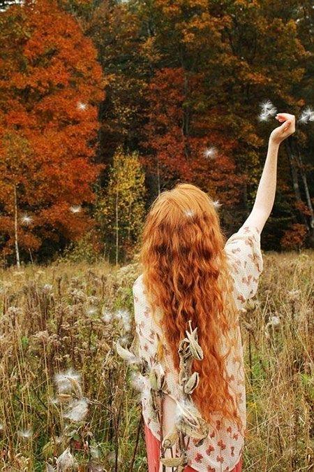 30 lange lockige rote Frisuren #curlyhairstyles
