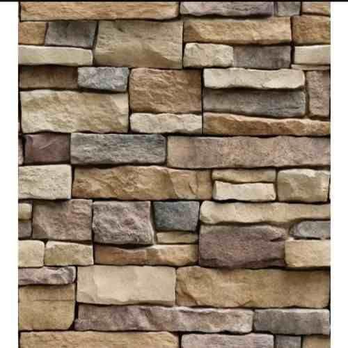 Papel Tapiz Piedras Laja Adhesivo 45cm X 10 Mts 3d 449 00