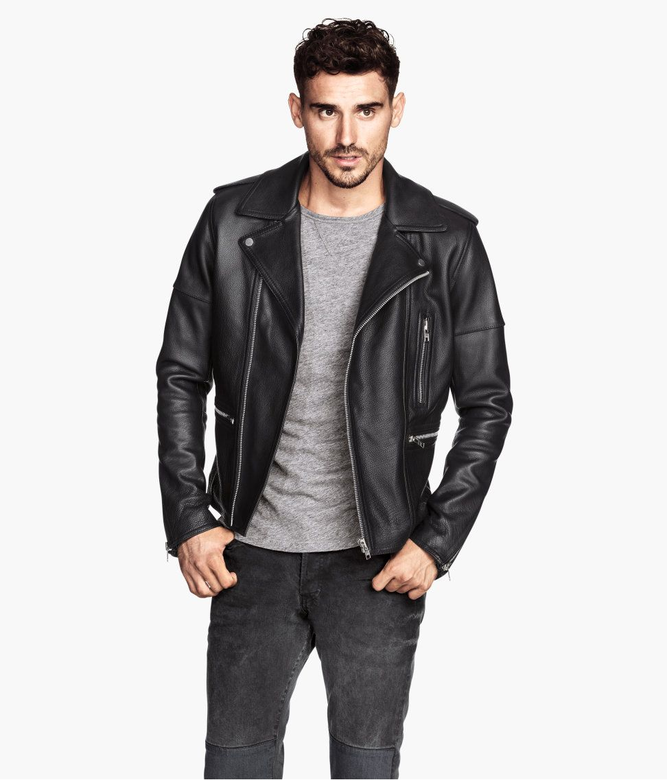 H M Offers Fashion And Quality At The Best Price Jackets Men Fashion Leather Jacket Men Mens Jackets [ 1137 x 972 Pixel ]