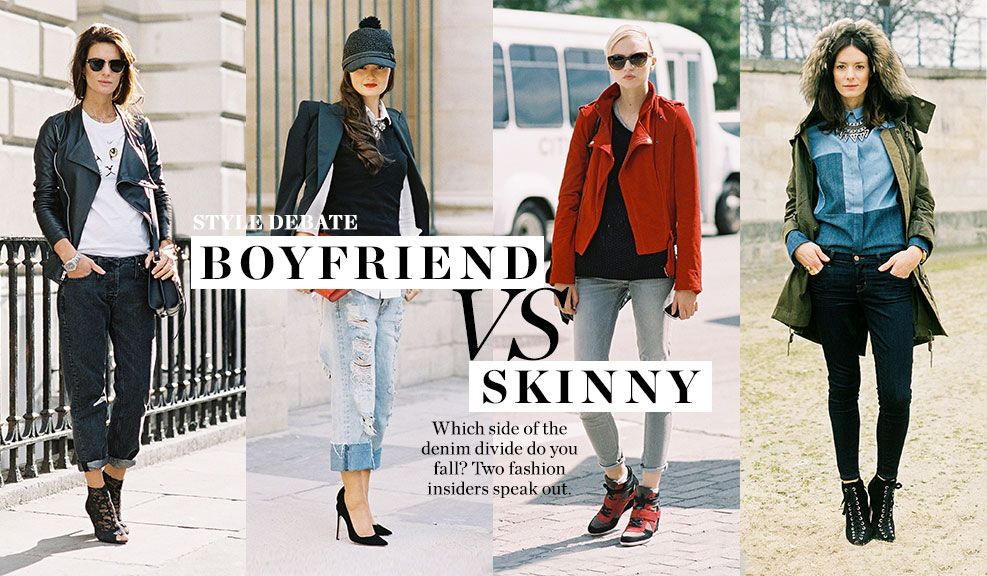 The Debate: Boyfriend vs. Skinny   ♕Trendy Closet♕   Pinterest ...