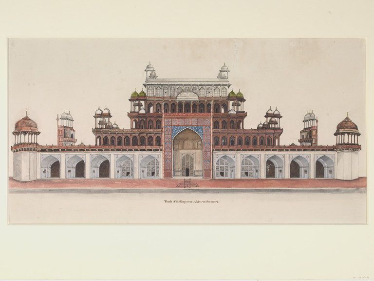 Taj Mahal Indian Art Handmade Wonder Of World Mogul Monument