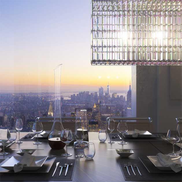 Sonho do dia: o apartamento mais incrível de NY | Penthouses, Lofts ...