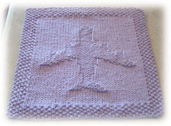 Airplane Washcloth Pattern | Dishcloth knitting patterns ...
