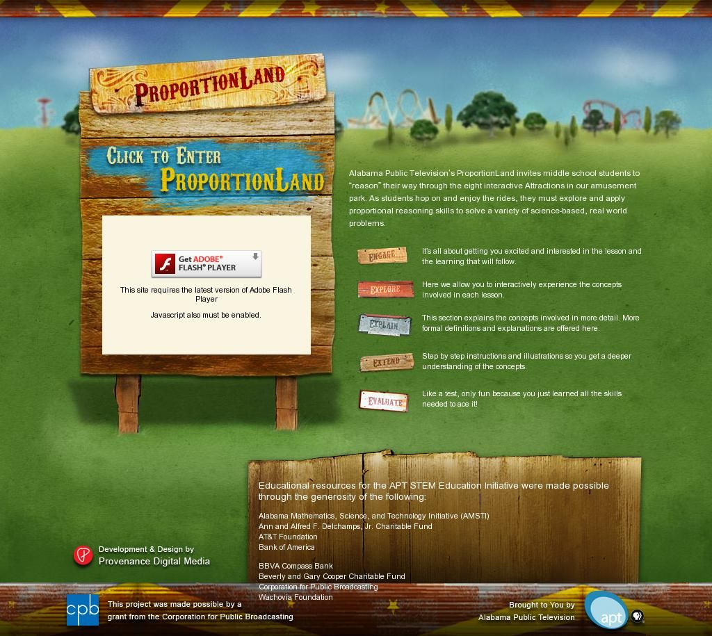 Proportionland Virtual Adventure In Math Middle School
