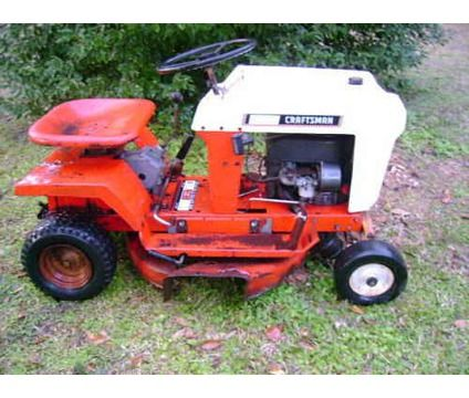 vintage sears craftsman riding mower is a lawn garden patios for sale in bunnell fl - Sears Lawn And Garden