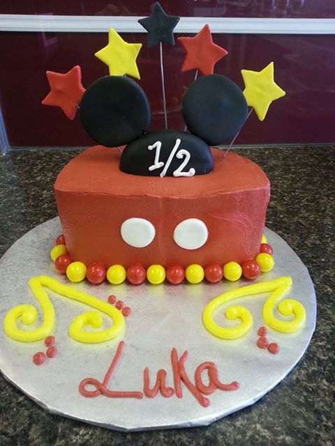 Home With Images Half Birthday Cakes Minnie Mouse Birthday