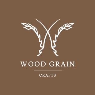 Woodgrain Wood Grain Logo