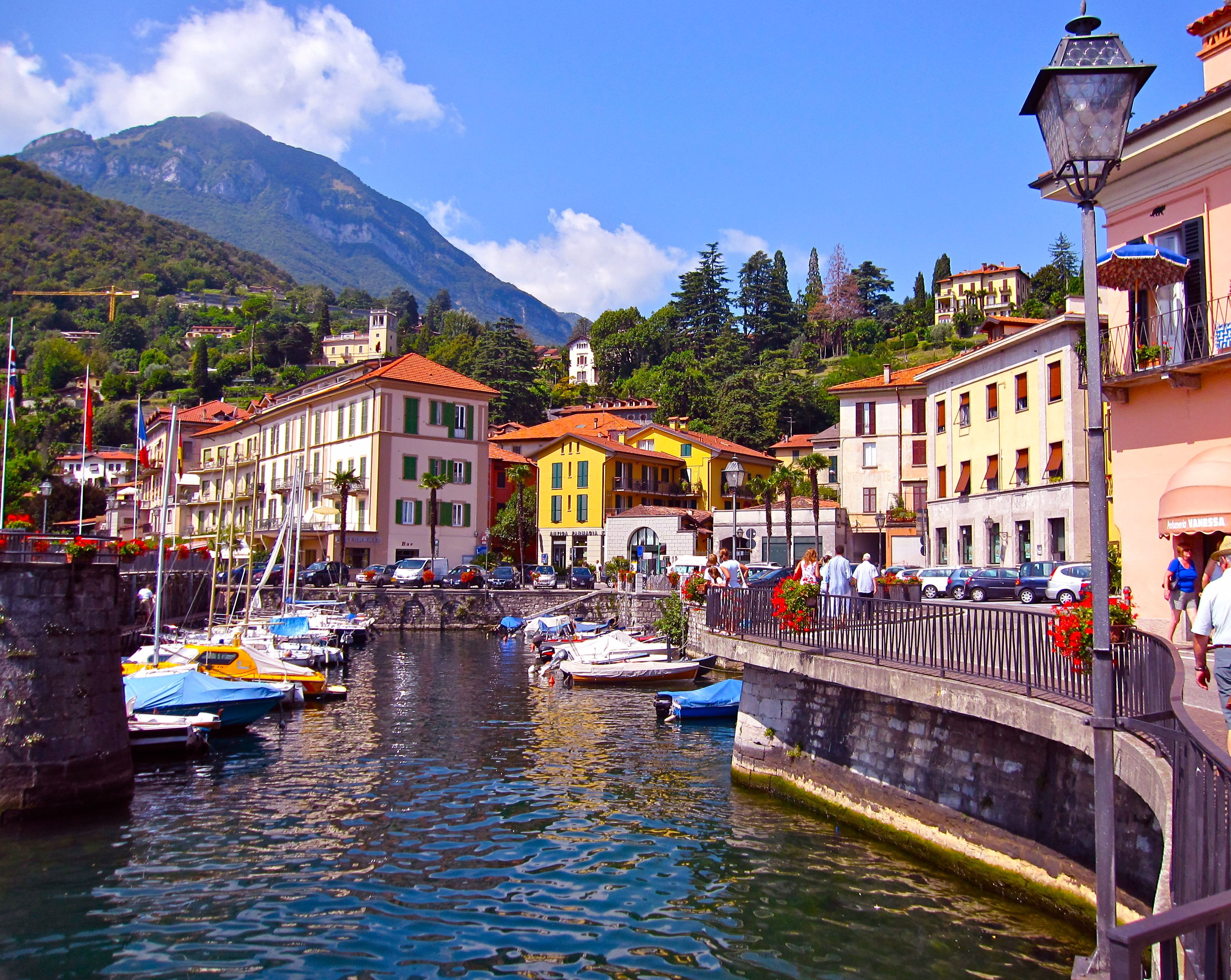 Town of Menaggio - Lake Como - stayed in this lovely place. Some really nice little restaurants.