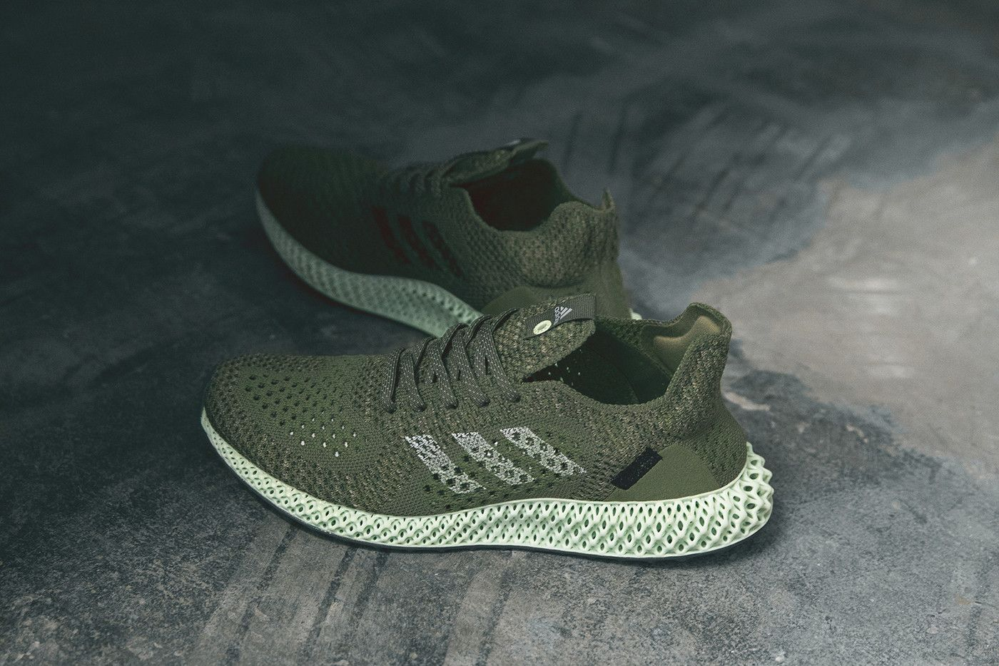 Footpatrol adidas Consortium Link Up on Carbon Vert FUTURECRAFT