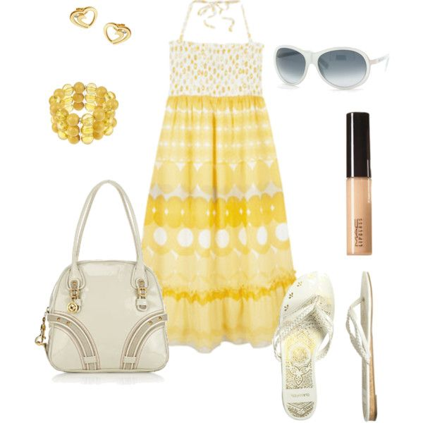 """""""Yellow"""" by t-bird on Polyvore"""