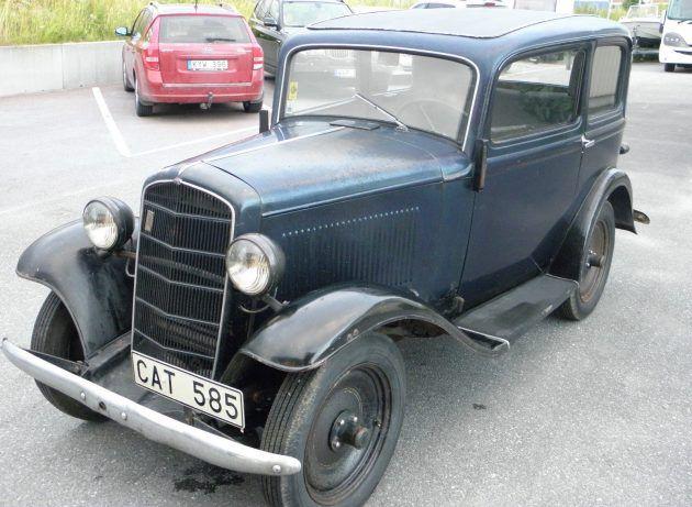 A Little Car That Could 1936 Opel P4 Autos Traumauto