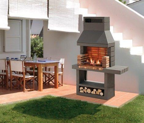 Modelos parrillas modernas buscar con google parrilla - Casas con chimeneas modernas ...