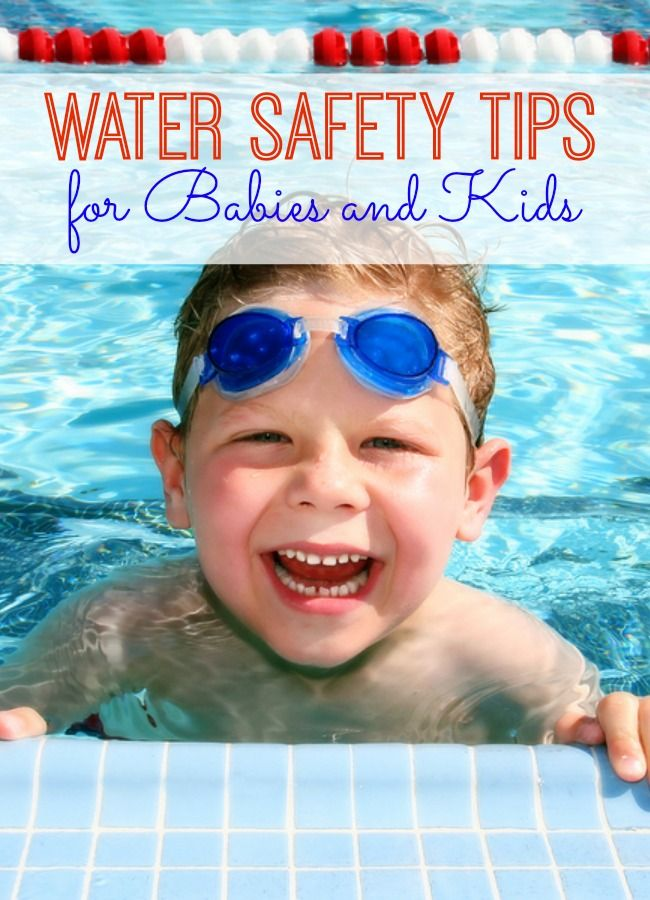 Pool And Water Safety Tips For Babies And Kids Water