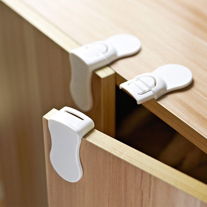 10 pcs bébé tiroir tiroir armoire porte loquet enfants sécurité sécurité