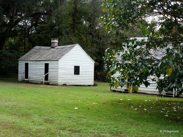Preserved Slave Cabin On The Magnolia Plantation, Near Charleston SC