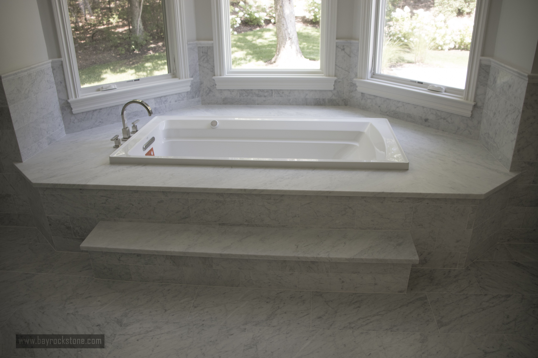 excellent marble tile work in bathroom italian bianco carrara rh pinterest com