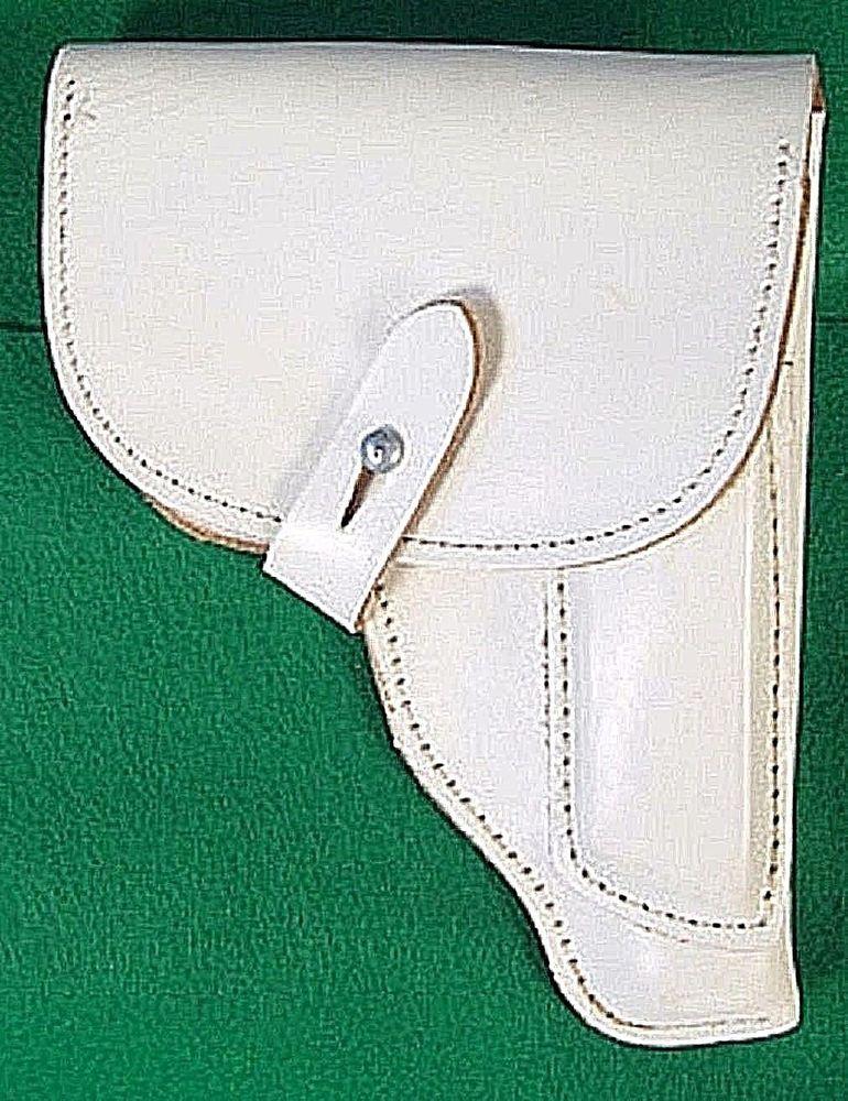 East german ddr white leather makarov holster for