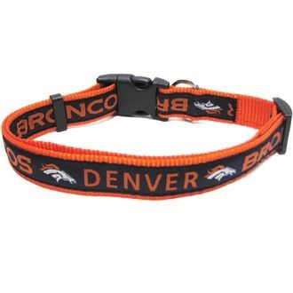 Denver Broncos Dog Collar - $8.95