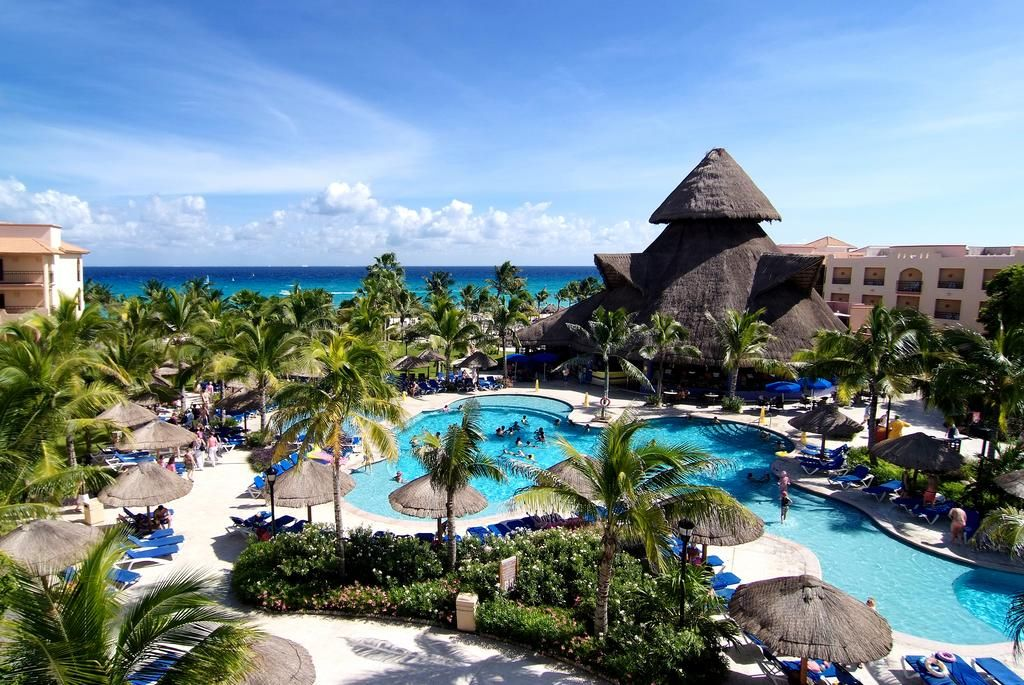 all inclusive beach wedding destinations%0A Sandos Playacar Beach Resort All Inclusive Playa del Carmen Situated on an  stretch of private beach  this allinclusive resort boasts   pools