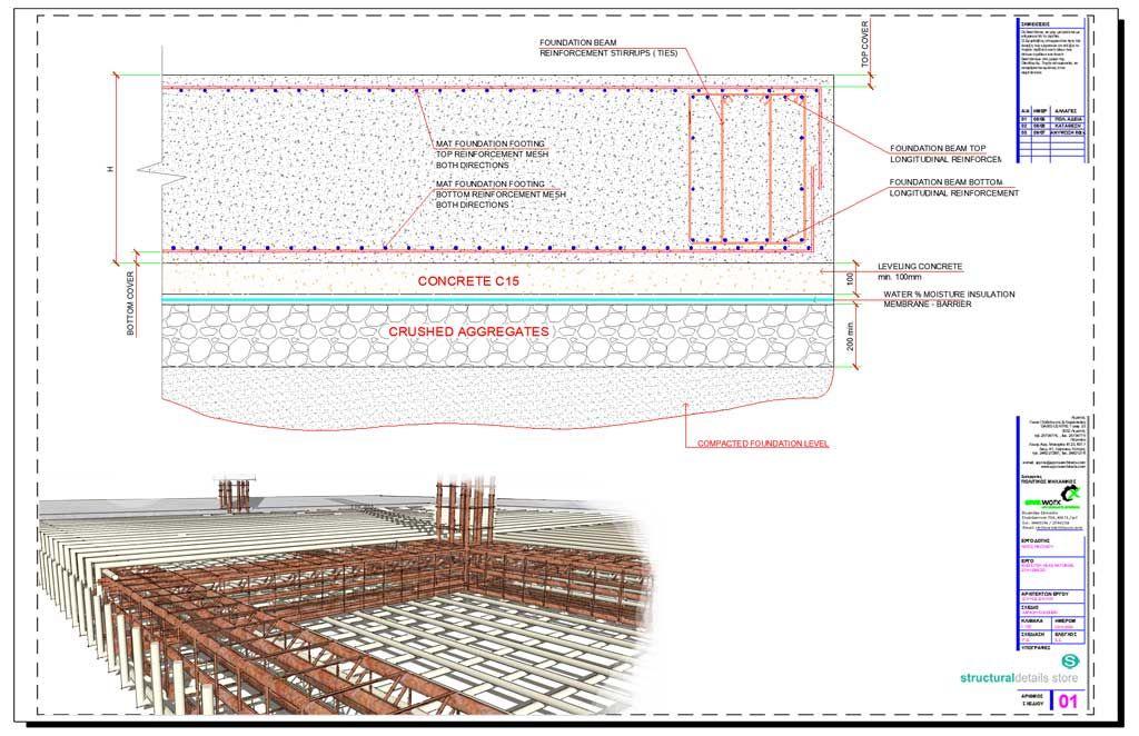 Reinforced Concrete Inverted Upstand Beam Slab Support Details Concrete Retaining Walls Reinforced Concrete Concrete