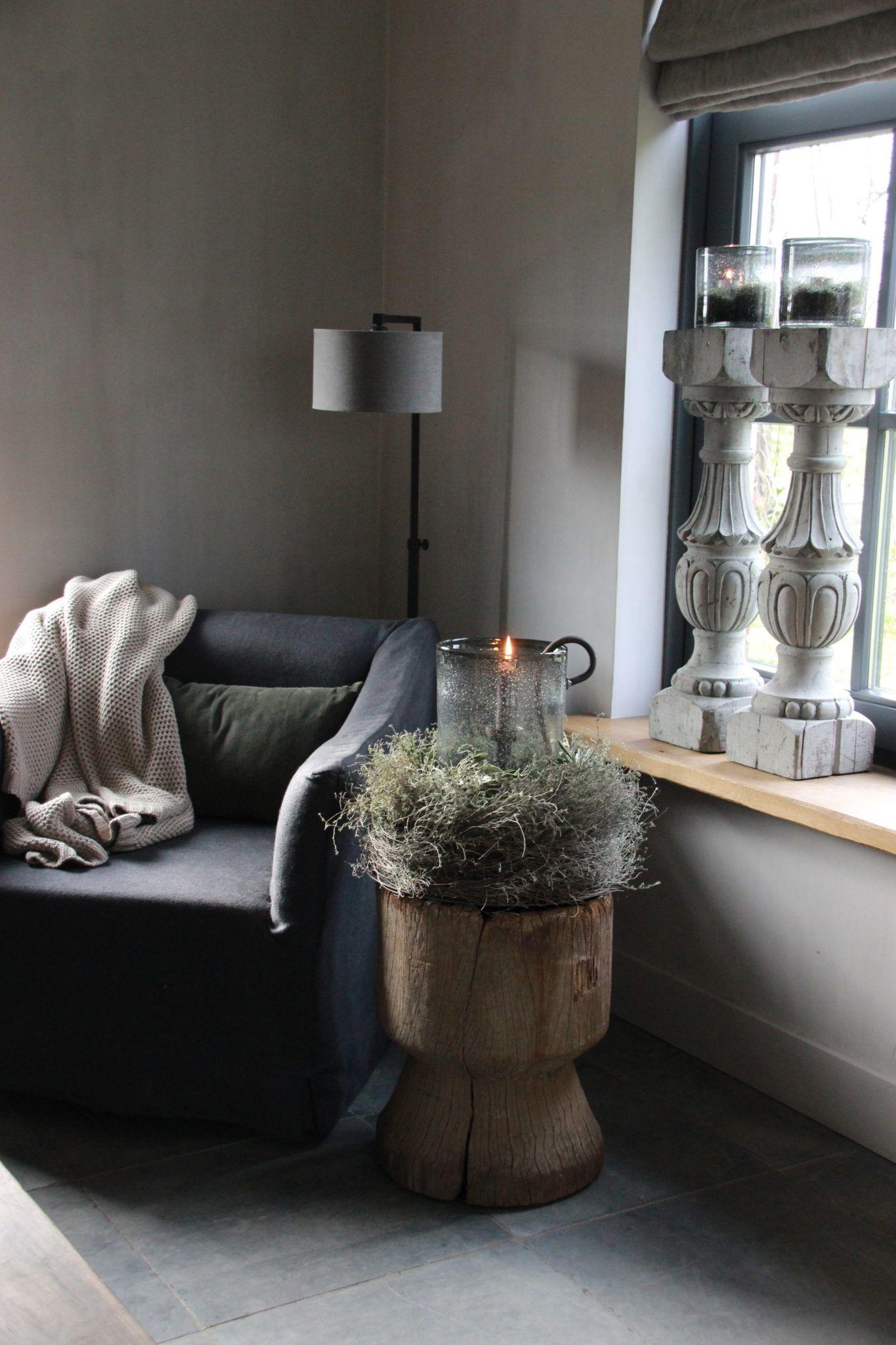 Houten Vijzel Xl Hillary Shome Home Deco Interieur Woonkamer Huis Interieur
