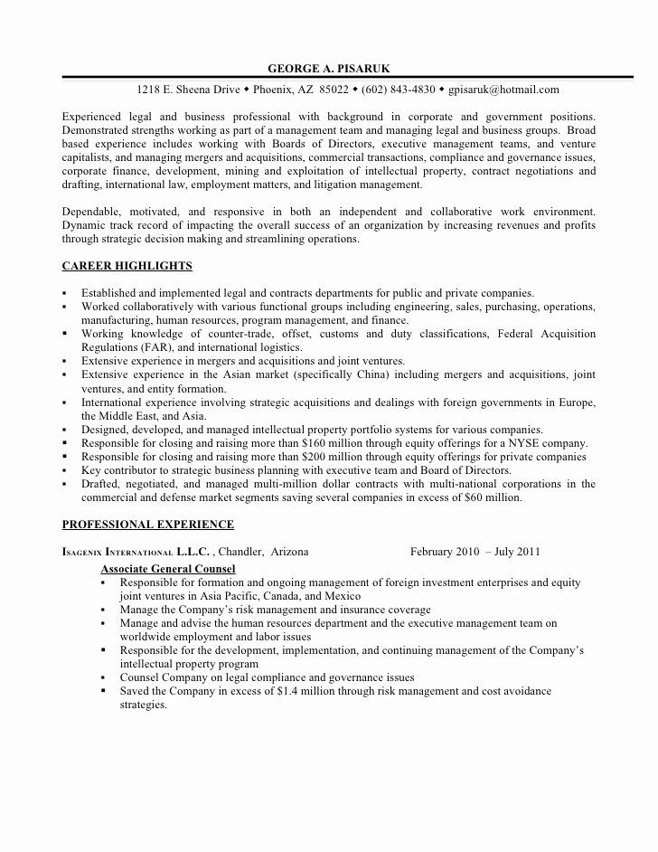 In House Counsel Resume New Essay Writing Service House Counsel Resume Cover Letter For Resume Sample Resume Resume