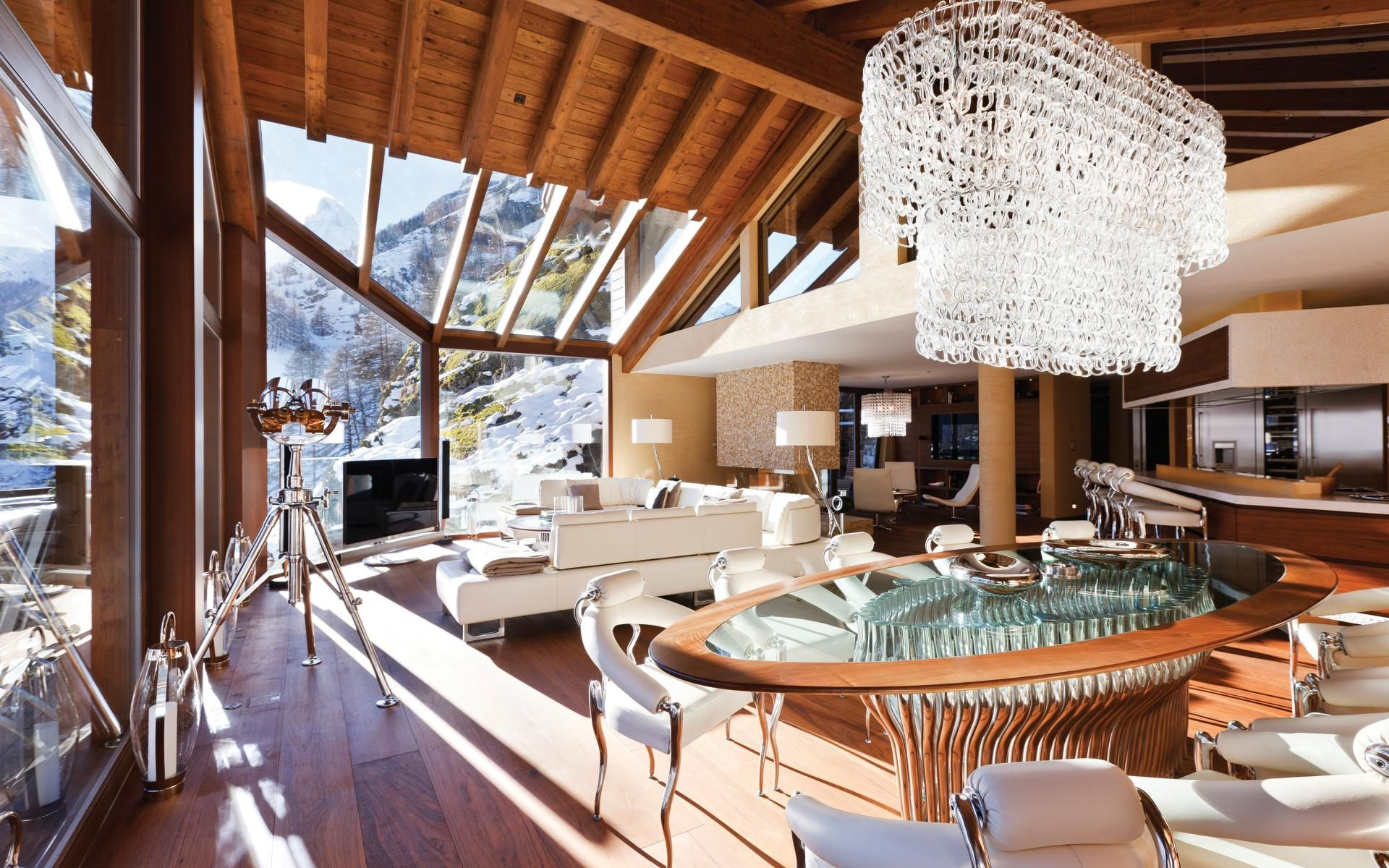 Luxury Ski Chalet Zermatt Peak Switzerland Photo 543
