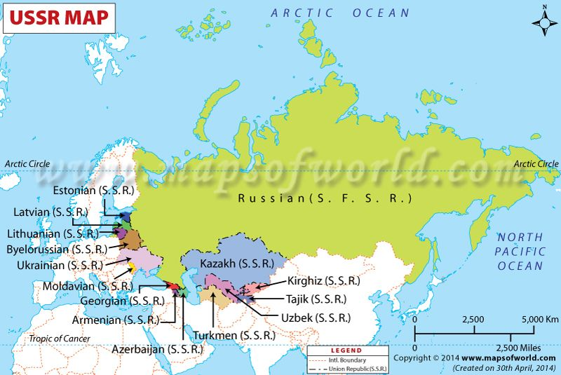 How Many Countries were Created by Disintegration of USSR ...