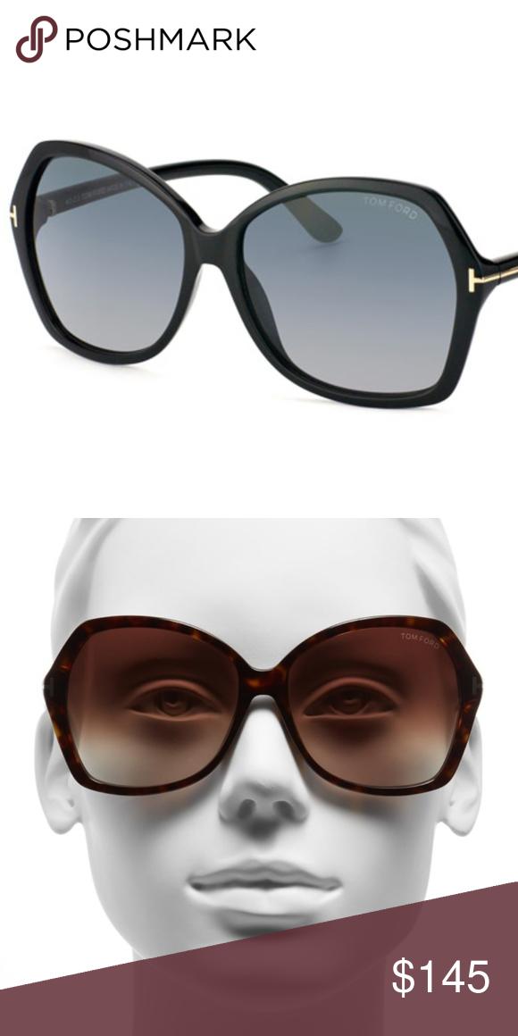 8a1fb7d1bad Tom Ford Carola Sunglasses Authentic Tom Ford Carola 60 mm sunglasses in  black with gradient lenses