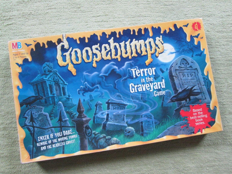 Vintage 1995 Goosebumps Terror in the Graveyard Board Game