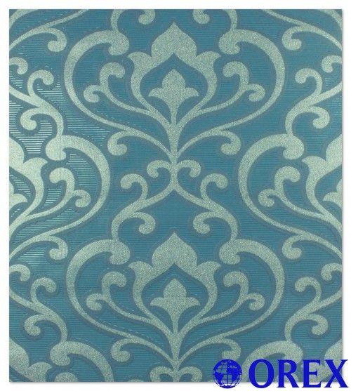 Vliestapete Rasch Queens Tapete 795028 blau Tapeten Rasch Queens