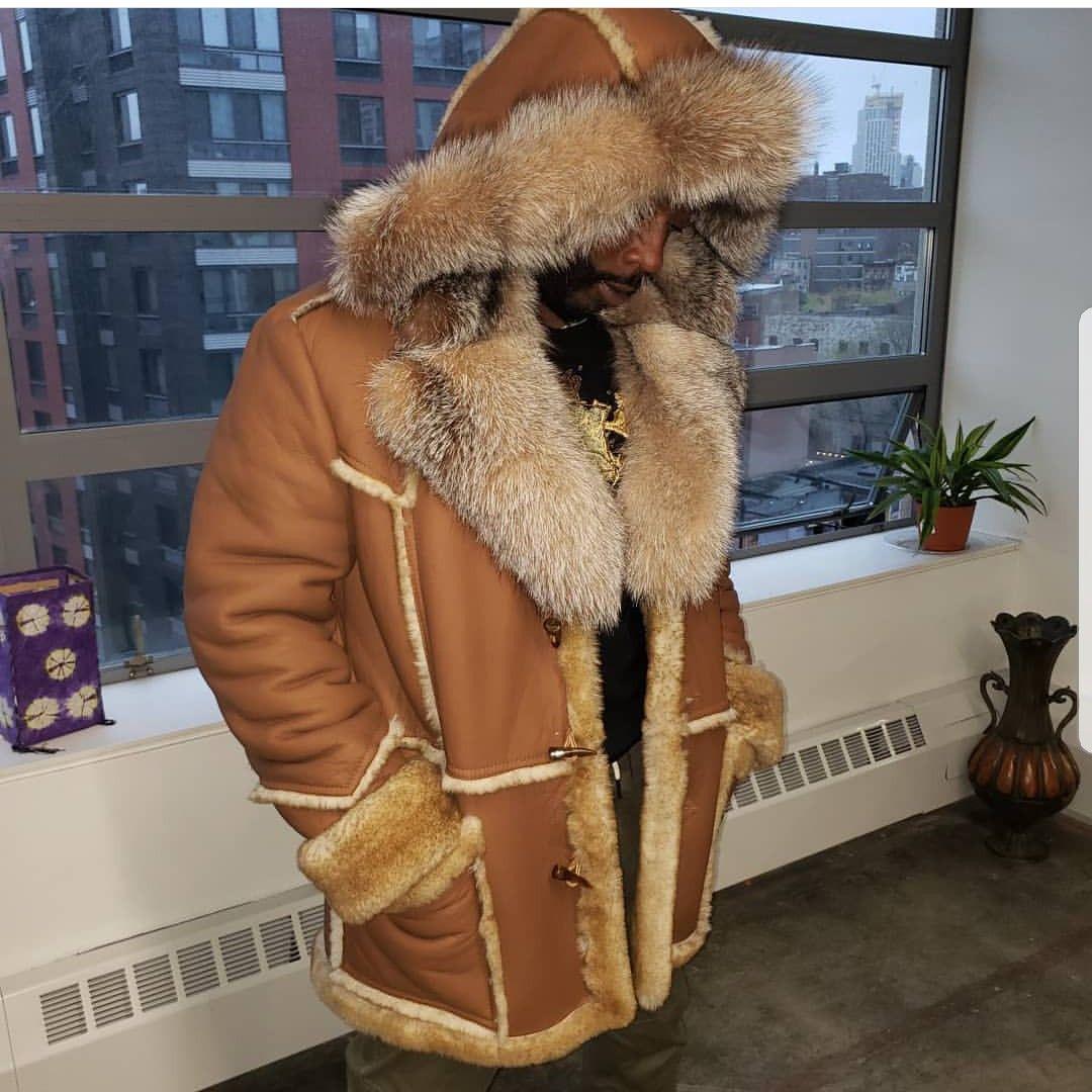 Tan Sheepskin For Men Hiphopcloset Com Mens Fashion Coat Mens Fur Coat Winter Fur Coats [ 1080 x 1080 Pixel ]