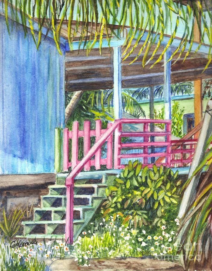 beach cottage paintings - Google Search | Art-Beach Cottages ...