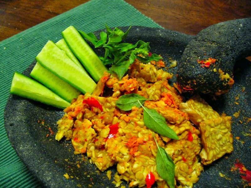 Resep Tempe Penyet Sambel Kencur Ttm Masakan Indonesia Resep Masakan Indonesia Resep Tempe