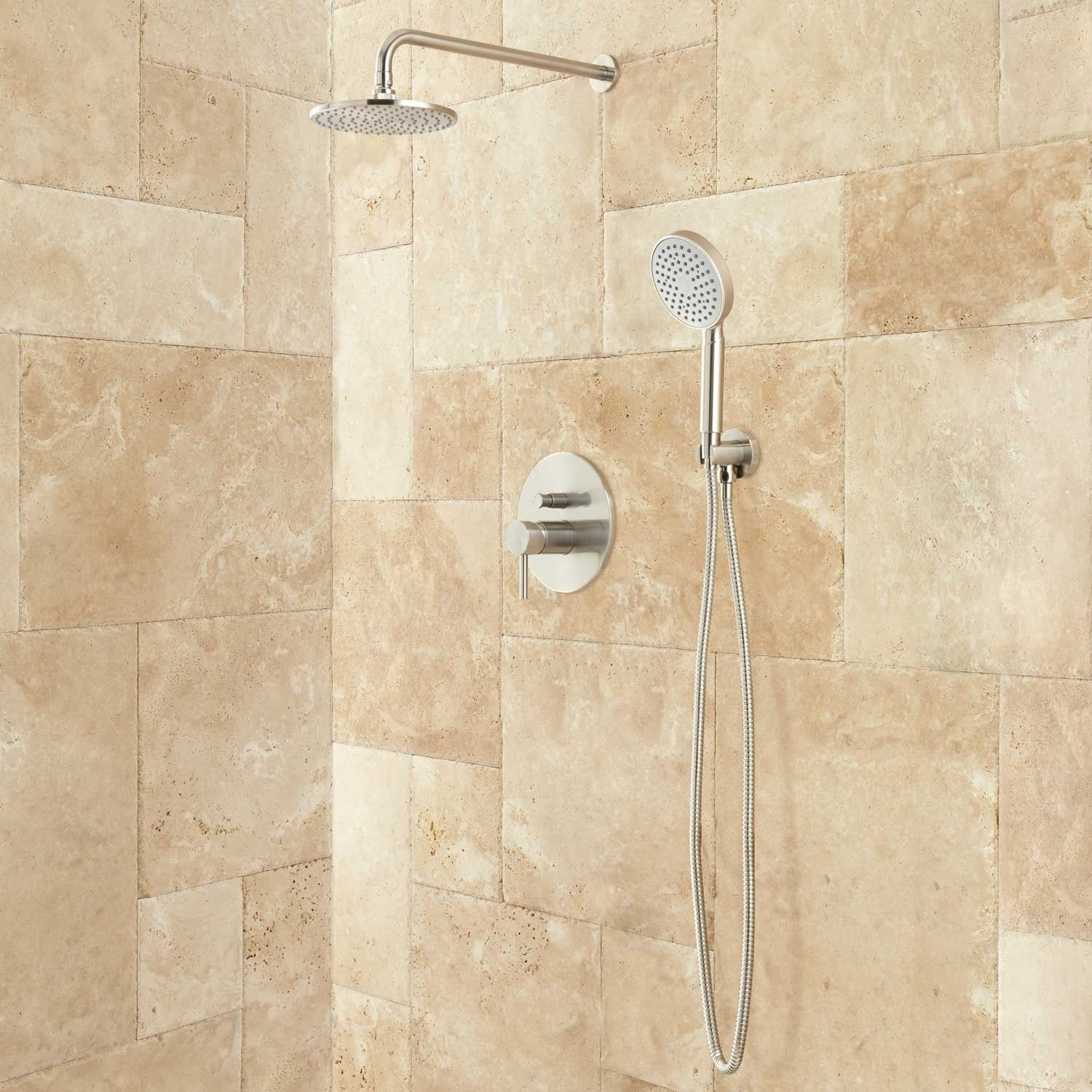 260, (brushed nickel) Lattimore Shower System with