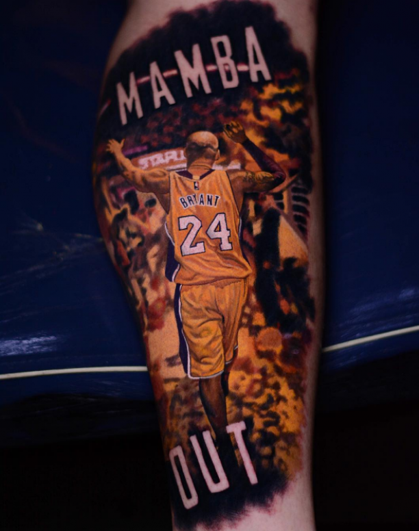 Mamba Star Spieler Tattoo Kobe bryant tattoos, Kobe