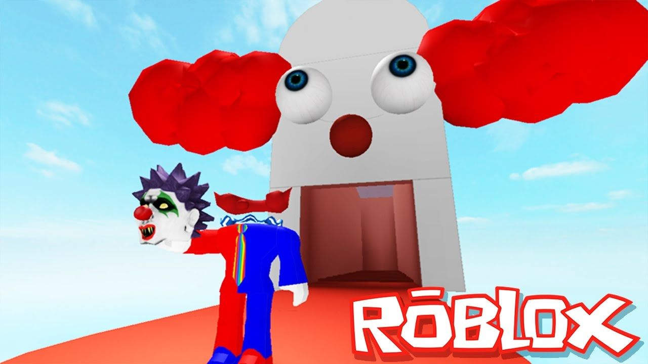 Escape Prison Obby In Roblox Roblox Adventures Escape Clown Prison Obby Escaping The Evil Clowns Roblox Adventures Roblox Evil Clowns