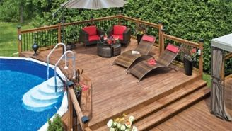 Inspiration de beaux decks de piscine am nagement for Plan de deck de piscine