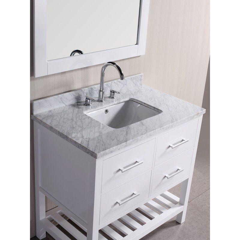 Thoren 36 Single Bathroom Vanity Set Bathroom Vanities Without