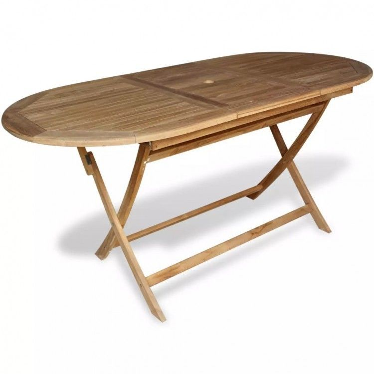 wooden garden table outdoor dining table teak wood large 6 seater rh pinterest com