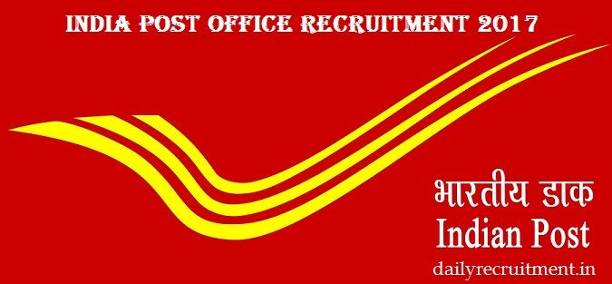 Available 3256 Vacancy In Indian Post Office Recruitment 2017
