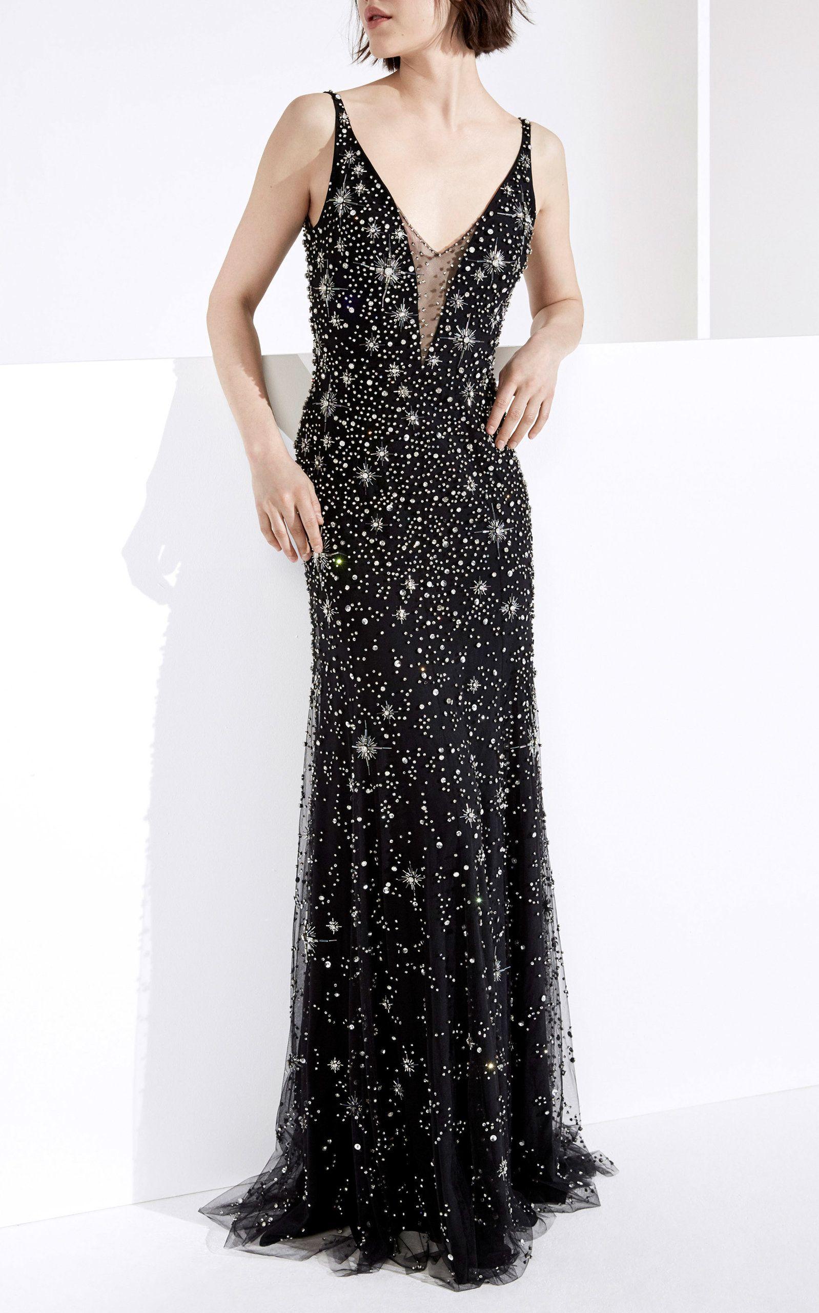 Celeste Embellished Gown by JENNY PACKHAM for Preorder on Moda ...