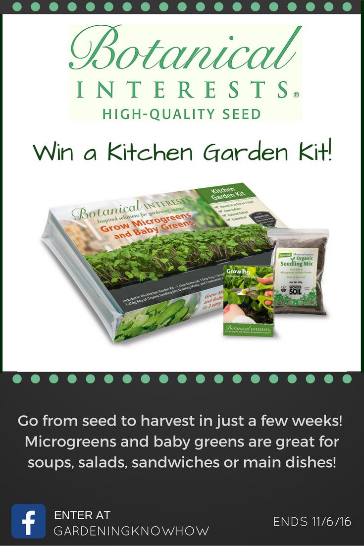 botanical interests kitchen garden kit giveaway   gärten, facebook, Gartengerate ideen