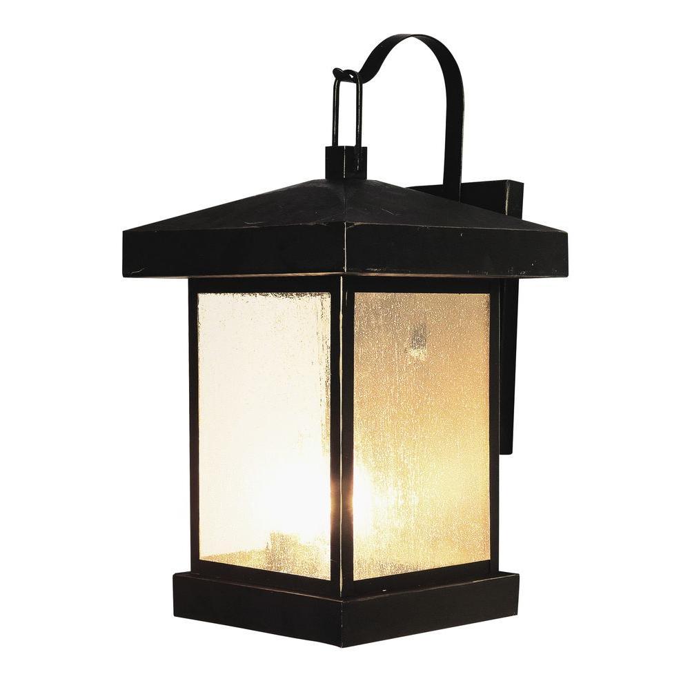 The Home Depot Logo Wall Lantern Outdoor Wall Lantern Trans Globe Lighting