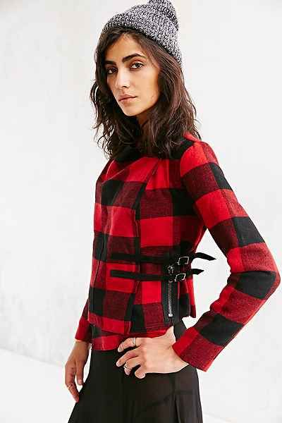 BB Dakota Rosanna Plaid Jacket - Urban Outfitters