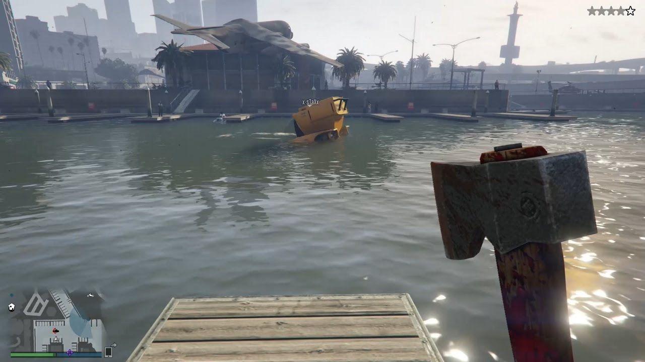 Gta V Online Ps4 Submarino Hacha Y Mucha Muerte Tower Bridge Landmarks Tower